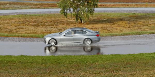 Summer tyres test:Auto Bild compares wet braking distances