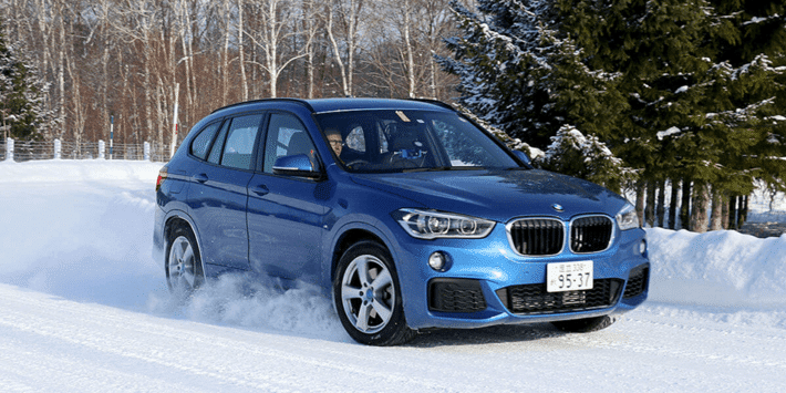 SUV winter tyres test: Auto Bild compares tyres on the BMW X1