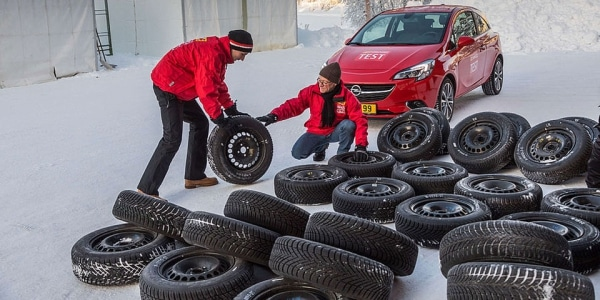 Winter and all season tyres test conducted ACE Lenkrad