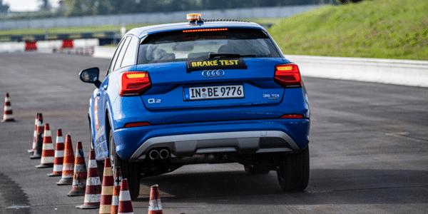ACE Lenkrad braking test of summer tyres from cheap brands