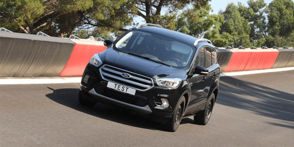 Summer tyres test for SUVs: grip in dry conditions