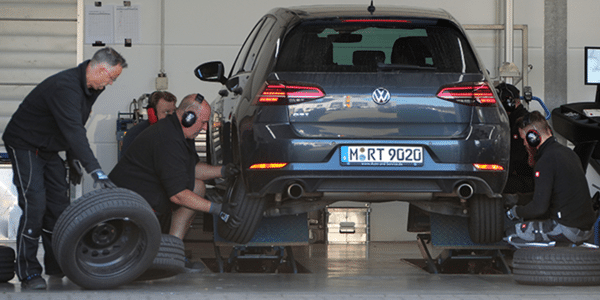 Summer tyres test in 205/55 16: fitting tyres for the comparison test