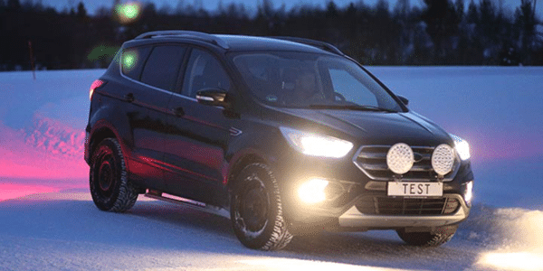 SUV winter tyres test: TCS and ADAC compare tyre grip on snow