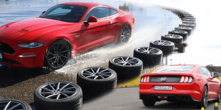 2021 summer sports tyre test: Auto Bild compares the best sports tyre on a Mustang GT