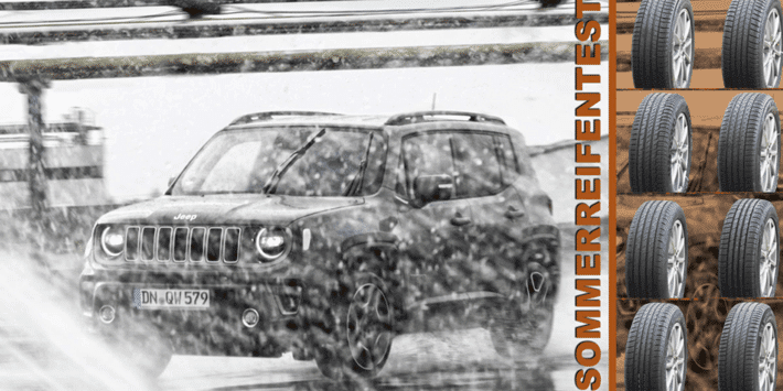 SUV summer tyre test: 2021 Auto Bild comparison