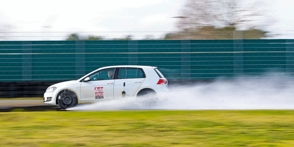 Winter tyre test: Auto Express compares tyre grip in wet conditions