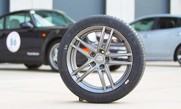 Continental PremiumContact 6 winner of the Auto Zeitung summer tyre test