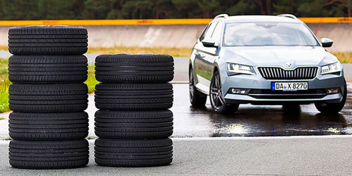 Auto Zeitung have tested 10 tyres for family and passenger cars in its latest 2019 comparison test