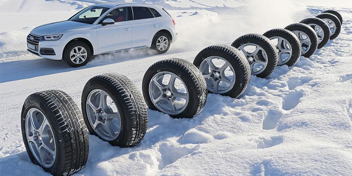 Auto Bild has tested and compared 10 winter tyres for SUVs