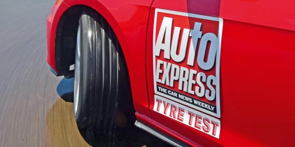 AutoExpress tested the wet performance of 10 summer tyres