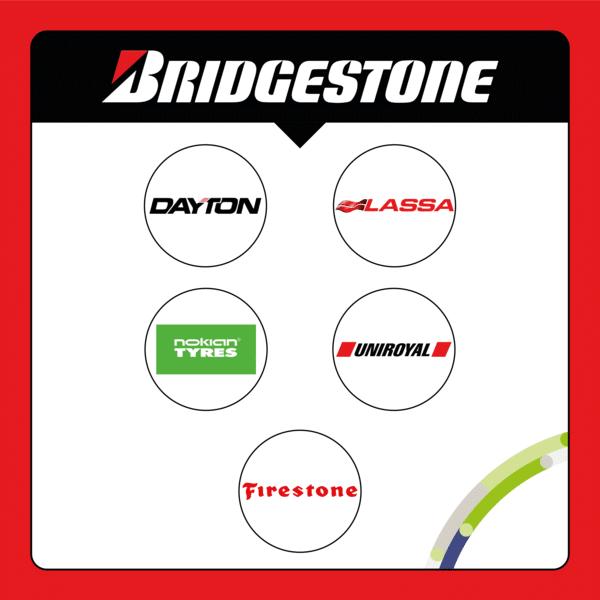 Sub brands Bridgestone