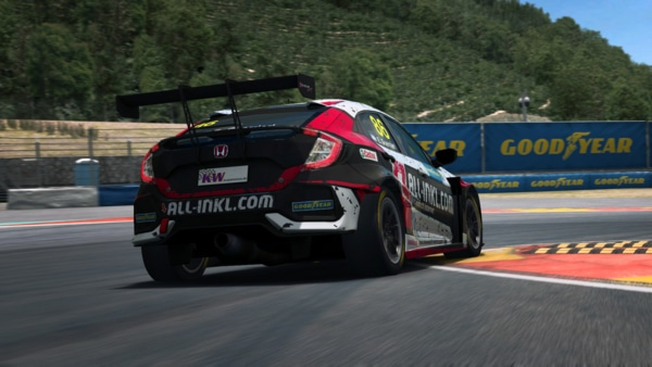 Goodyear at the WTCR eSports edition