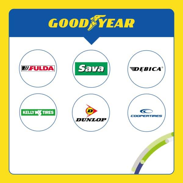 Sub brands Goodyear