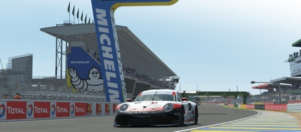Virtual track for the Le Mans 24 Hours: Michelin competes in eSport
