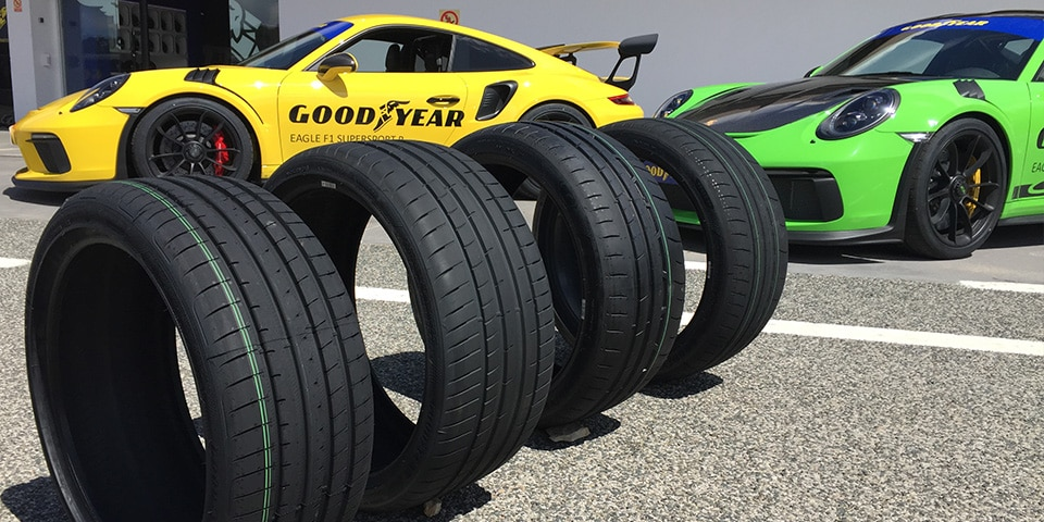 Profile of goodyear eagle f1 supersport tyres