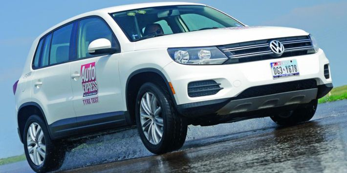 Road SUV tyre test:Auto Express has compared tyres for SUVs in wet conditions