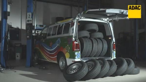 ADAC test of van and utility vehicle tyres