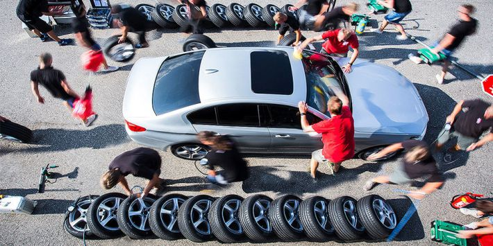 The best 2019 sports tyres for Auto Bild