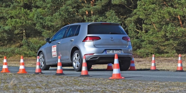 Winter tyre test on dry by Auto Express