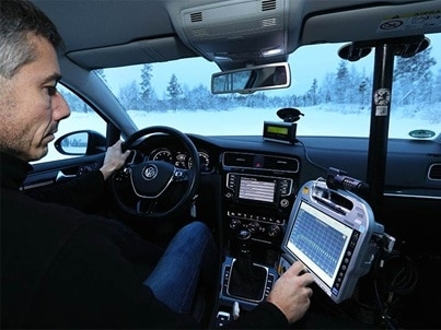 2019 winter tyres comparison test, TCS and ADAC save the data from tests on snow