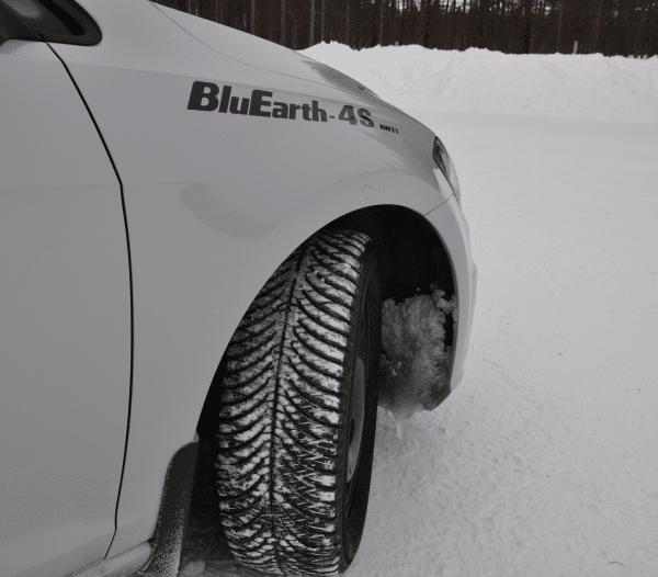 rezulteo tests the Yokohama BluEarth 4S AW21 all seasons tyre