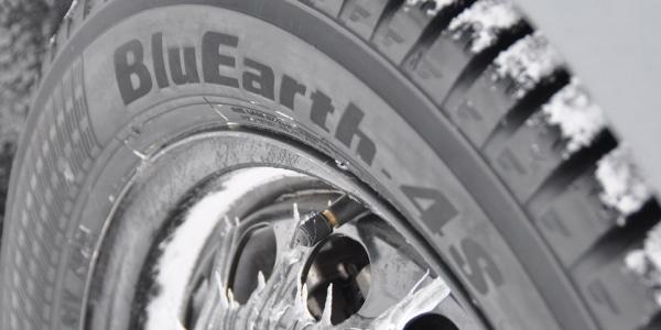 rezulteo tests the Yokohama BluEarth 4S AW21 all seasons tyre on ice