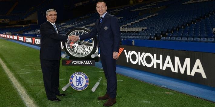 Official partnership announced between Mr. Noji, Yokohama and John Terry, Chelsea FC