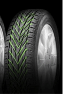 Tyre with a directional tread pattern
