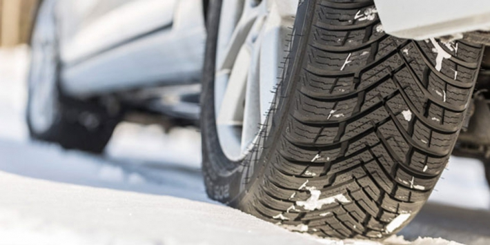 All-season tyres in winter