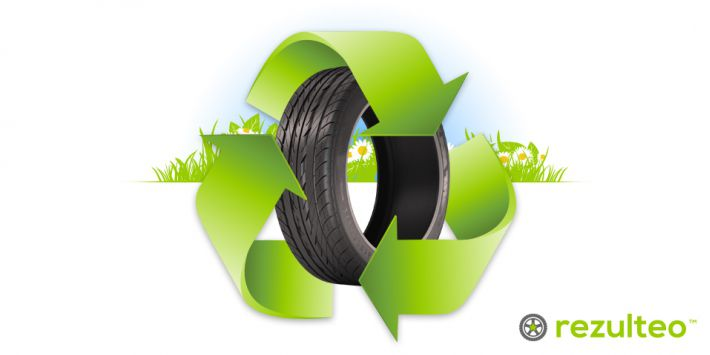 Find out more about how tyres are recycled.