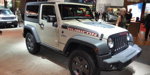 Permanent all wheel drive vehicle: Jeep Wrangler Rubicon