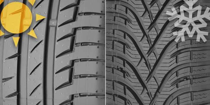 Winter tyres and summer tyres: all you need to know