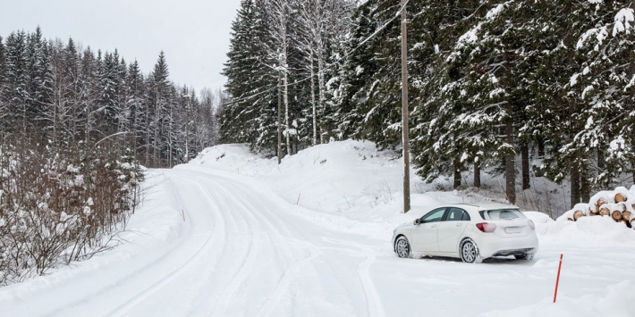 Advanced driver assistance systems on snow