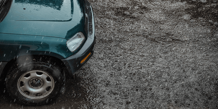 Driving in rain: tyres in good condition guarantee your safety