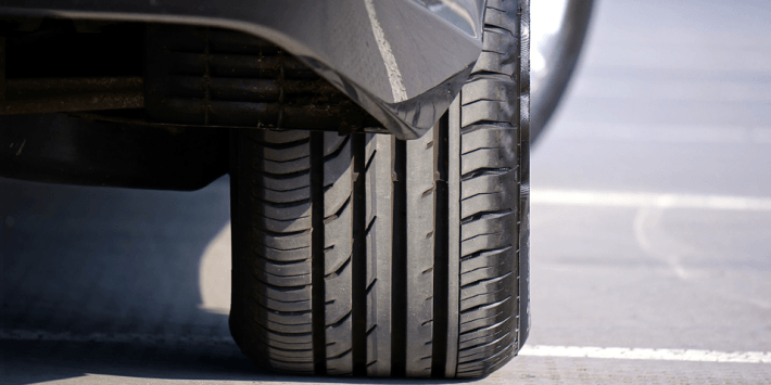 Driving with run-flat tyres following a puncture