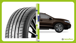 On-road and high performance tyres for 4x4s et SUVs