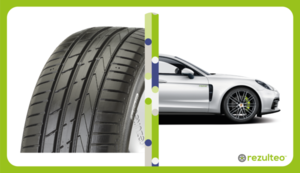 Performance tyres for premium vehicles