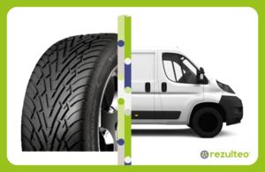 Van, light truck or motorhome tyres